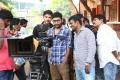Gautham Karthik, RJ Balaji, Kannan @ Ivan Thanthiran Shooting Spot Stills