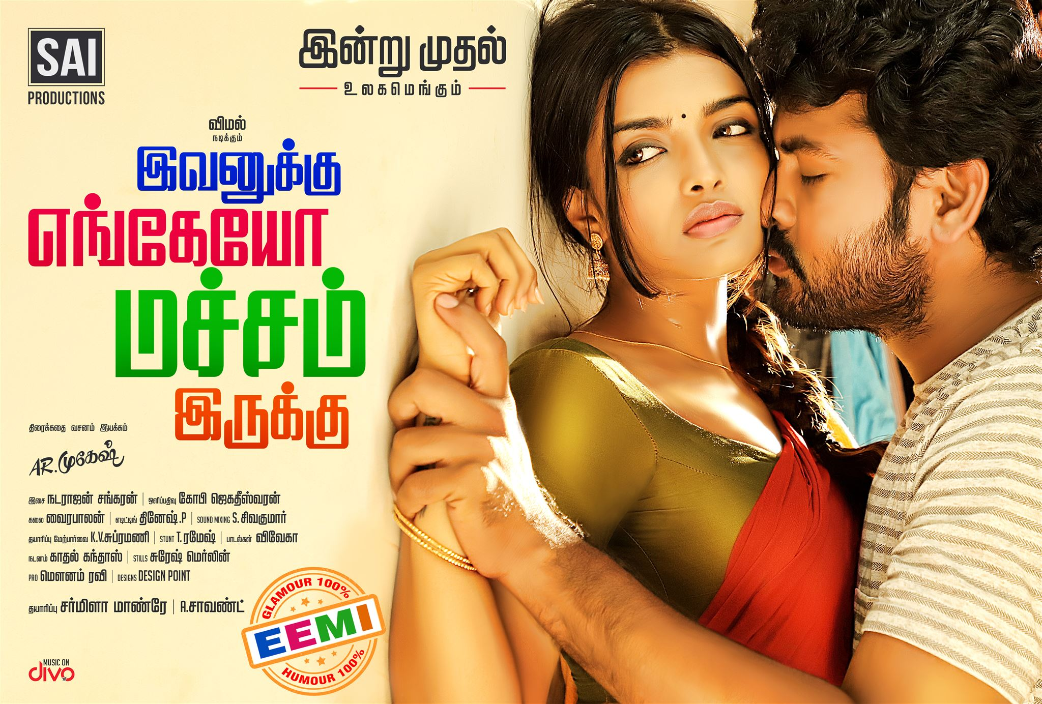Ashna Zaveri, Vimal in Ivanukku Engeyo Macham Irukku Movie Wallpapers HD