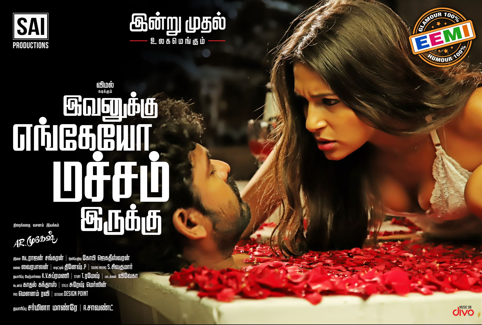Vimal, Miya Rai in Ivanukku Engeyo Macham Irukku Movie Wallpapers HD