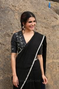 Jaanu Movie Heroine Samantha Akkineni Interview Photos