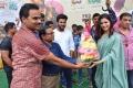 Sharwanand, Samantha @ Jaanu Movie Team visit Vizag Raghu Engineering College Stills
