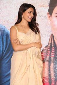Actress Samantha Akkineni @ Jaanu Movie Trailer Launch Stills