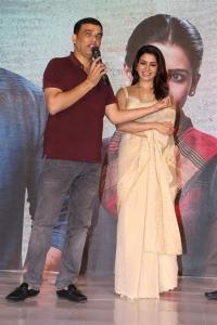 Dil Raju, Samantha @ Jaanu Movie Trailer Launch Stills
