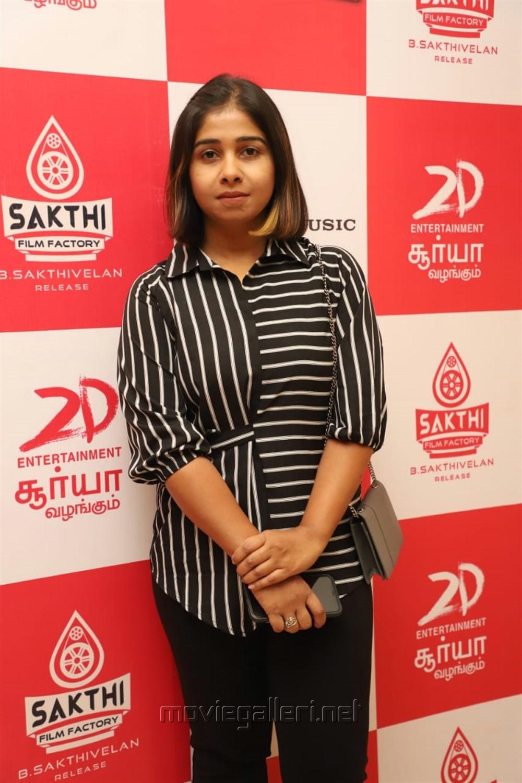Poornima Ramaswamy @ Jackpot Movie Audio Launch Stills
