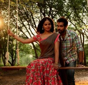 Bindu Madhavi, Sibiraj in Jackson Durai Movie Photos