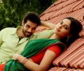 Sibiraj, Bindu Madhavi in Jackson Durai Movie Photos