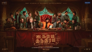 Actor Dhanush Jagame Thandhiram Movie First Look Wallpapers HD