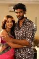 Siva & Sanjana in Jagan Nirdoshi Movie Stills