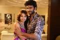 Hero Siva, Heroine Sanjana in Jagan Nirdoshi Movie Stills
