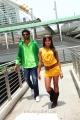 Siva, Sanjana in Jagan Nirdoshi Movie New Photos
