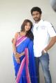 Siva, Sanjana at Jagan Nirdoshi Telugu Movie Press Meet Stills