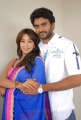 Siva, Sanjjanaa at Jagan Nirdoshi Movie Press Meet Stills