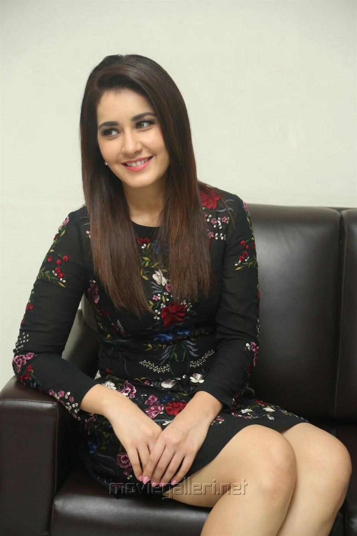 Jai Lava Kusa Raashi Khanna Interview Images
