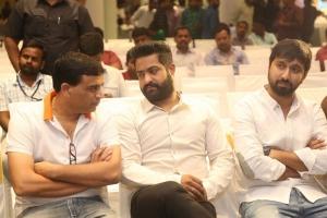 Dil Raju, Jr NTR @ Jai Lava Kusa Success Meet Stills