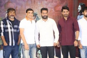 Chota K Naidu, Dil Raju, Jr NTR, Kalyan Ram @ Jai Lava Kusa Success Meet Stills