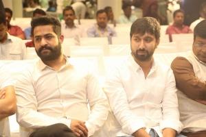 Jr NTR, KS Ravindra @ Jai Lava Kusa Success Meet Stills