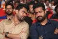 Nandamuri Kalyan Ram, Jr NTR @ Jai Lava Kusa Trailer Launch Stills