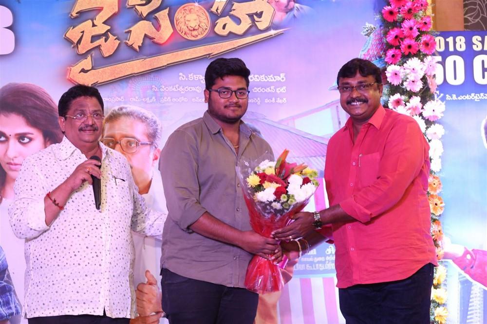 Jai Simha Movie Success Meet Stills