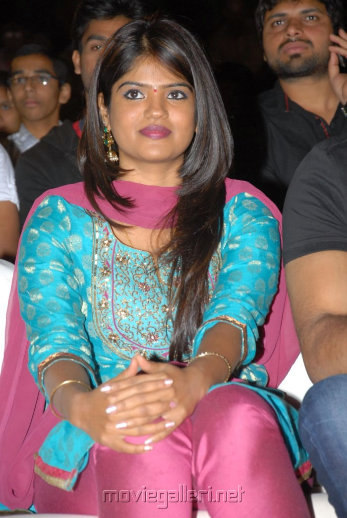Uday Kiran wife Vishitha at Jai Sriram Movie Audio Release Photos