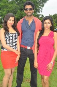 Priyanka, Shiva, Akshitha @ Jaiho Movie Launch Stills