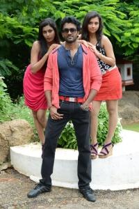 Akshitha, Shiva, Priyanka at Jaiho Movie Launch Stills