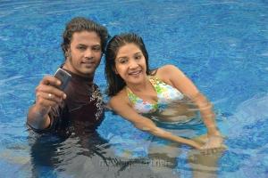 Jeevan, Sakshi Agarwal in Jaikira Kuthirai Movie Photos