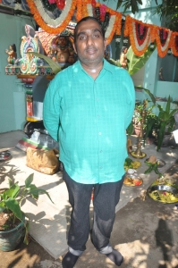 Music Director Dhina at Jamaai Movie Launch Photos
