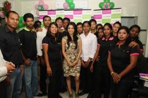 Janani Iyer inaugurates Green Trends Salon at Nungambakkam