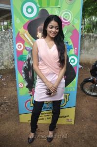 Tamil Actress Janani Iyer Hot Pics @ Paagan Interview