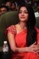 Actress Janani Iyer Red Saree Stills @ MGR SIVAJI Awards 2018