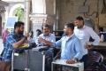 Jr NTR, Koratala Siva, Raju Sundaram, Tirru, Naveen Yerneni @ Janatha Garage Working Stills