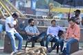 Naveen Yerneni, Jr NTR, Koratala Siva @ Janatha Garage Working Stills