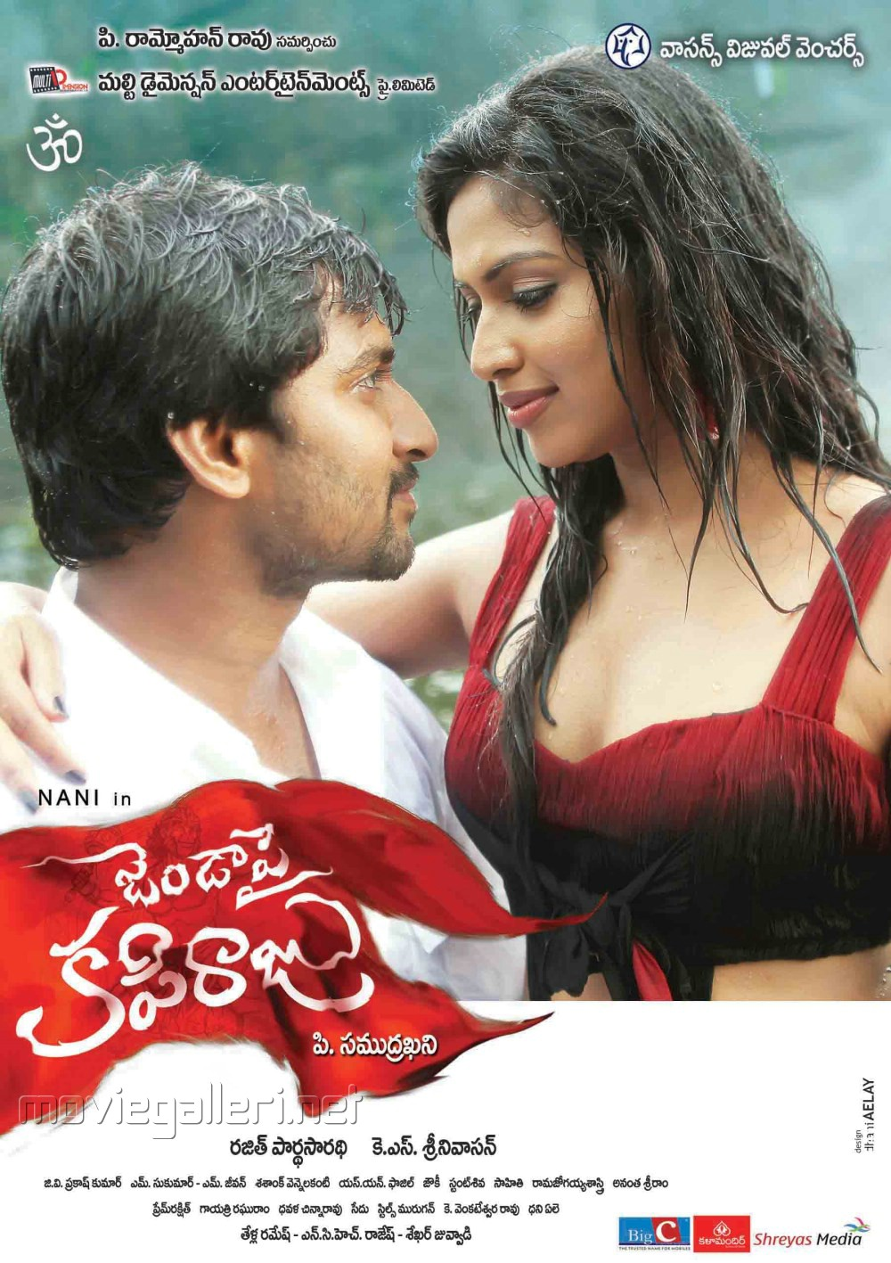 Nani, Amala Paul in Janda Pai Kapiraju Movie Posters