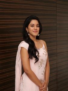 Actress Mirnalini Ravi @ Jango Audio Launch Stills