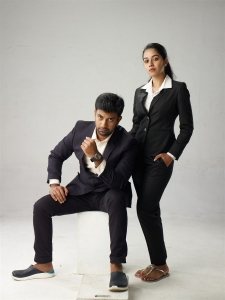 Satheesh Kumar, Mirnalini Ravi in Jango Movie Images