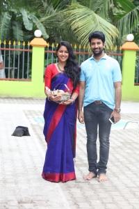 Mirnalini, Sathish @ Jango Movie Launch Photos