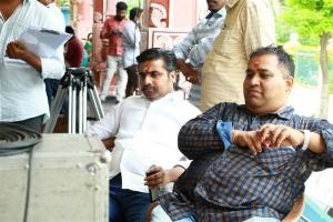 Sathish Kumar Bhonsle, CV Kumar @ Jango Movie Launch Photos