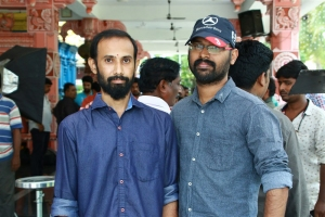Director Mano Karthikeyan @ Jango Movie Launch Photos
