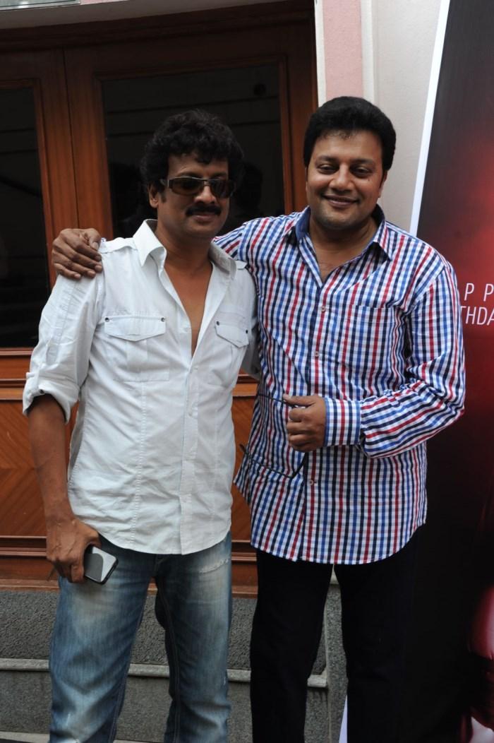 Uttej, Saikumar @ Janmasthanam Movie Press Meet Stills