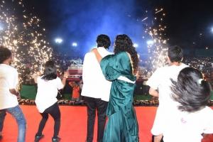 Naveen Polishetty, Faria Abdullah @ Jathi Ratnalu Pre Release Event Warangal Photos