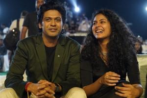 Naveen Polishetty, Faria Abdullah @ Jathi Ratnalu Movie Success Meet Stills