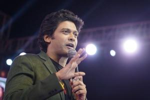 Naveen Polishetty @ Jathi Ratnalu Movie Success Meet Stills