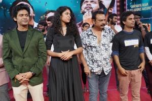 Naveen Polishetty, Faria Abdullah, Naresh, Anudeep KV @ Jathi Ratnalu Movie Success Meet Stills