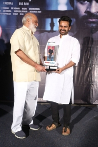 K Raghavendra Rao, Sai Dharam Tej @ Jawaan Movie Pre Release Function Stills
