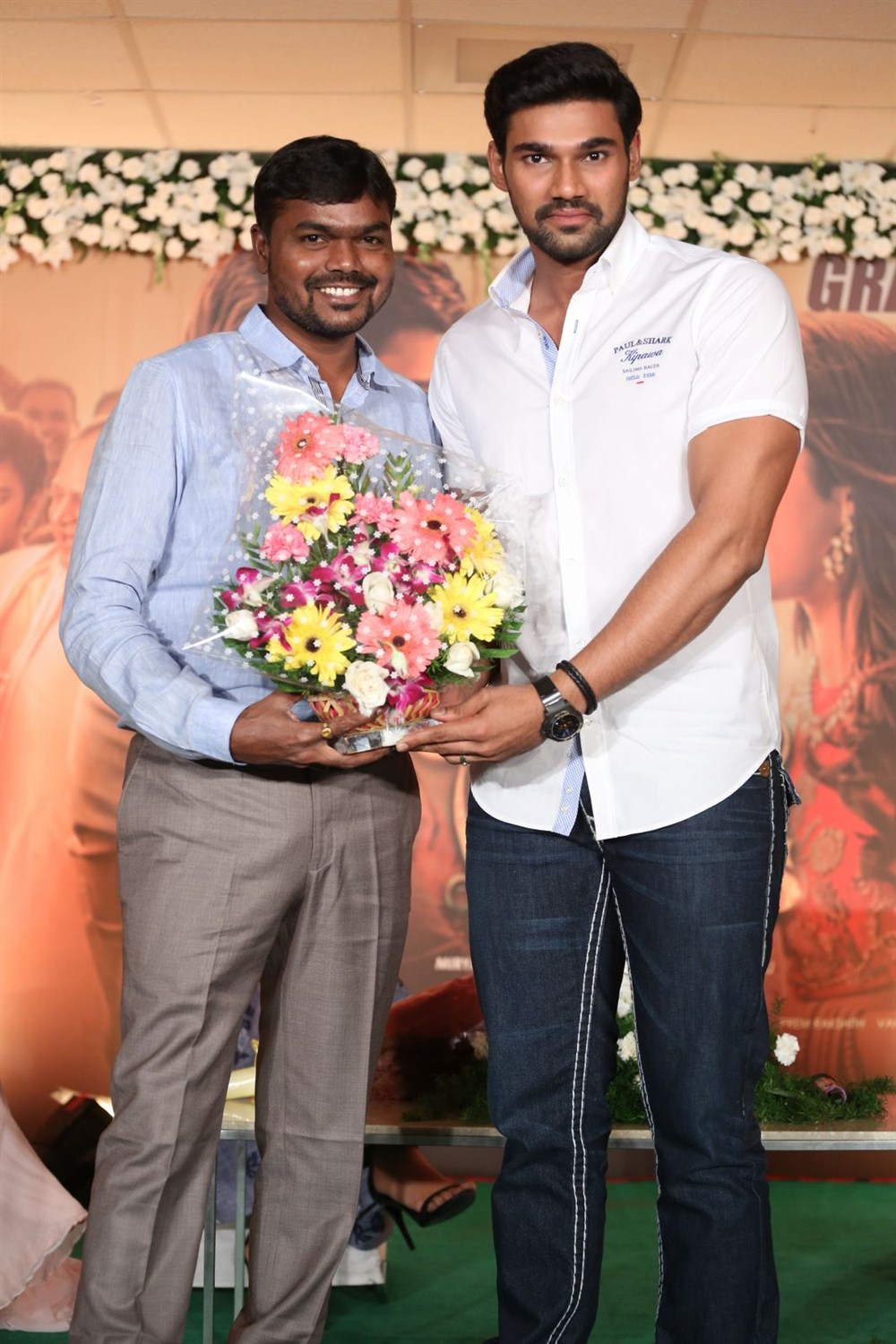 Bellamkonda Sreenivas @ Jaya Janaki Nayaka Press Meet Stills