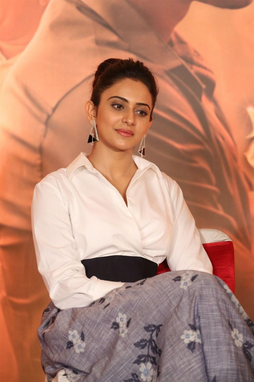 Actress Rakul Preet Singh @ Jaya Janaki Nayaka Press Meet Stills