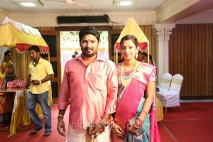 Actress Jayachitra Son Amresh Keerthi Hanusha Marriage Stills
