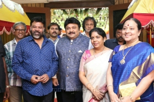 P. Vasu, wife Shanthi, Prabhu, wife Punitha