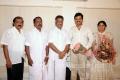 O.Panneerselvam, Sengottaiyan wishes Karthi Ranjini