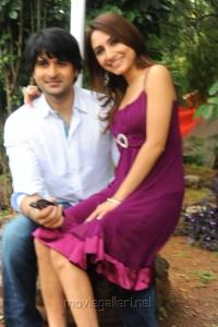 Jayanth, Dhriti at NSR Films Movie Launch Stills